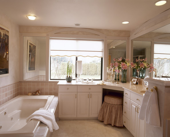 Built In Dressing Table Photos Design Ideas Remodel And Decor