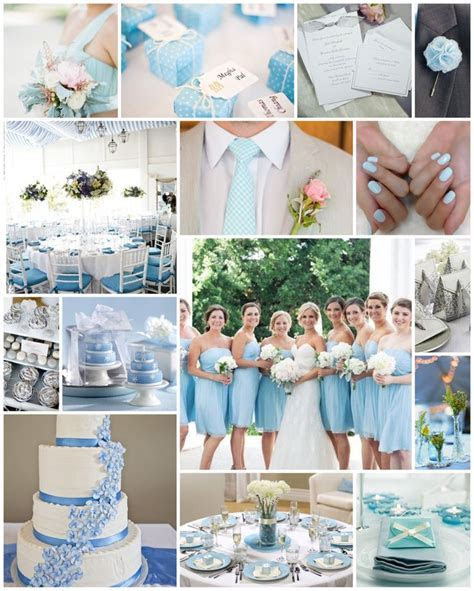 Baby / Light / Pale Blue wedding scheme   Baby Blue, Mint