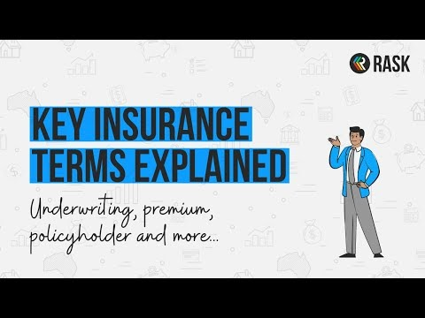 An Easy Explanation of Insurance Terms like Underwriting | Rask Finance | [HD]