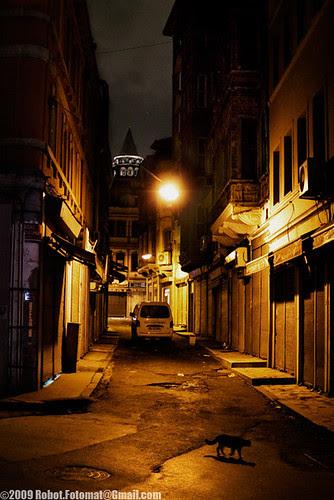 Beyoğlu at Night