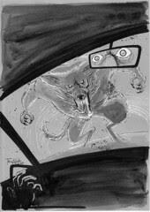 Werewolf Magazine Illustration