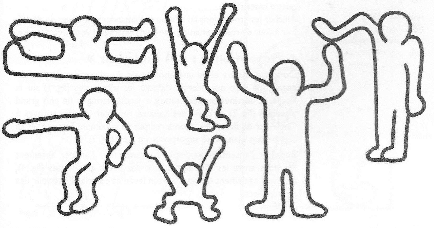 Loup keith haring coloriage maternelle 30000 collections de pages colorier imprimables - Silhouette a colorier ...