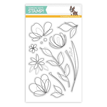 Simon Says Clear Stamps SPRING FLOWERS SSS101595