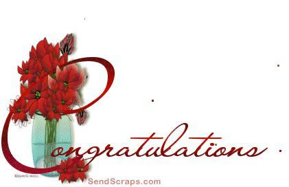 ? Top 38 Congratulations images, greetings and pictures