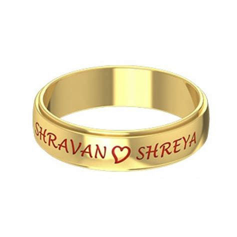 Kerala Wedding Rings Designs With Name: Collections That