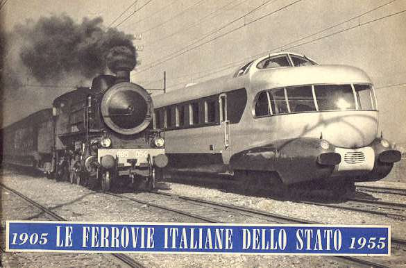 Risultati immagini per ferrovie italiane 1956