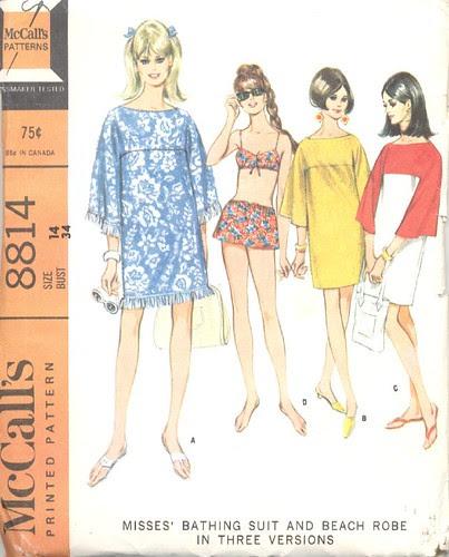 Beach Robe Pattern, 1967
