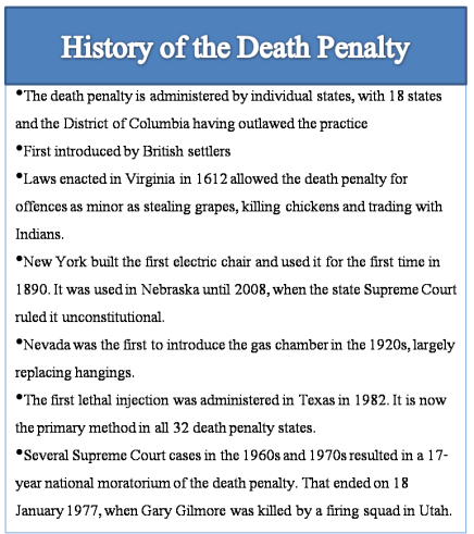 us government debates over legalizing capital punishment The pros and cons of the death penalty updated on march 20, 2017  capital punishment is a difficult and emotional topic for many  the us government lists 41 .