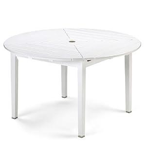 top preis drachmann tisch rund 126 wei von skagerak gartentisch rund. Black Bedroom Furniture Sets. Home Design Ideas