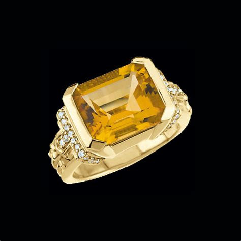 citrine diamond ring  graciousrosecom