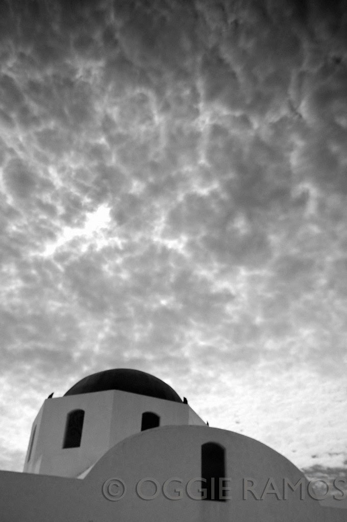 Thunderbird Resort - Dramatic Clouds Over the Blue Dome in Mono