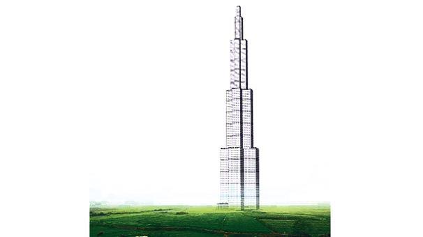 220 katlı bina 4 ayda bitecek!