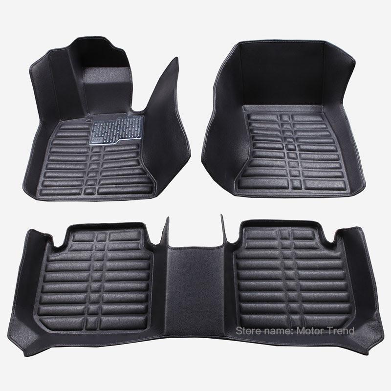 Custom fit car floor