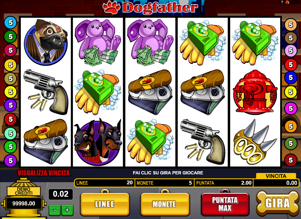 Win dogfather slot machine online microgaming images igre hunter