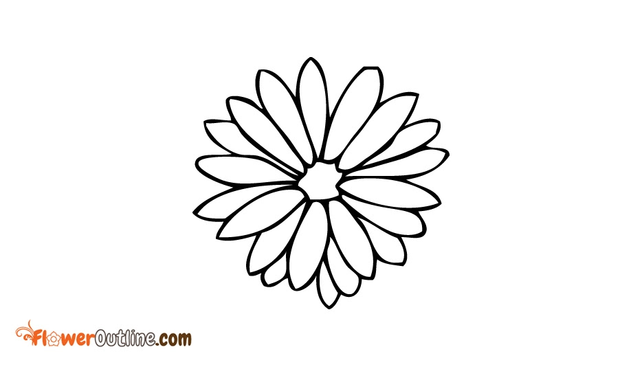Small Lotus Flower Outline Flowers Healthy