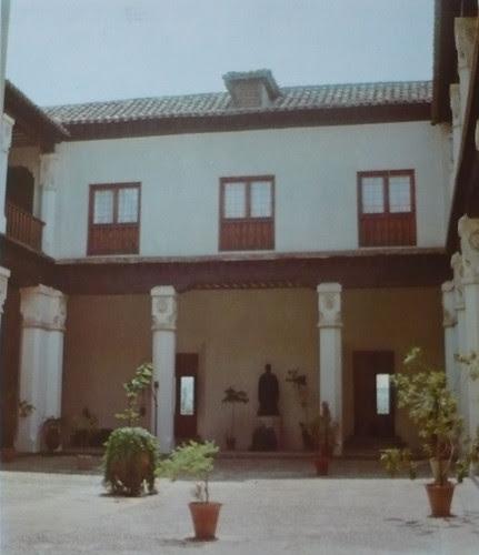 Palacio de Fuensalida en 1979. Galería sur del patio
