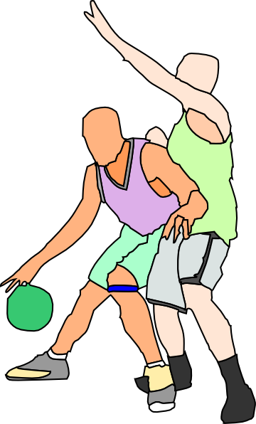 clipart basketball goal. picture of a white character leaping. Basket Ball Players clip art