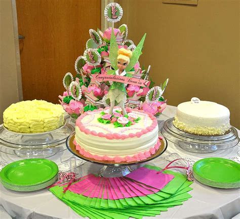Fantasy Tinkerbell Baby Shower Party Ideas   Photo 12 of