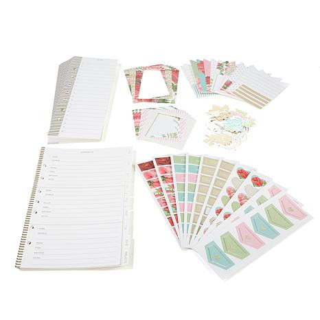 Anna Griffin® Daily Planner Embellishments Kit - 8107219 | HSN