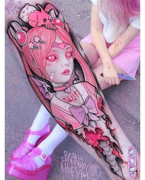 body tattoos school anime tattoo arm