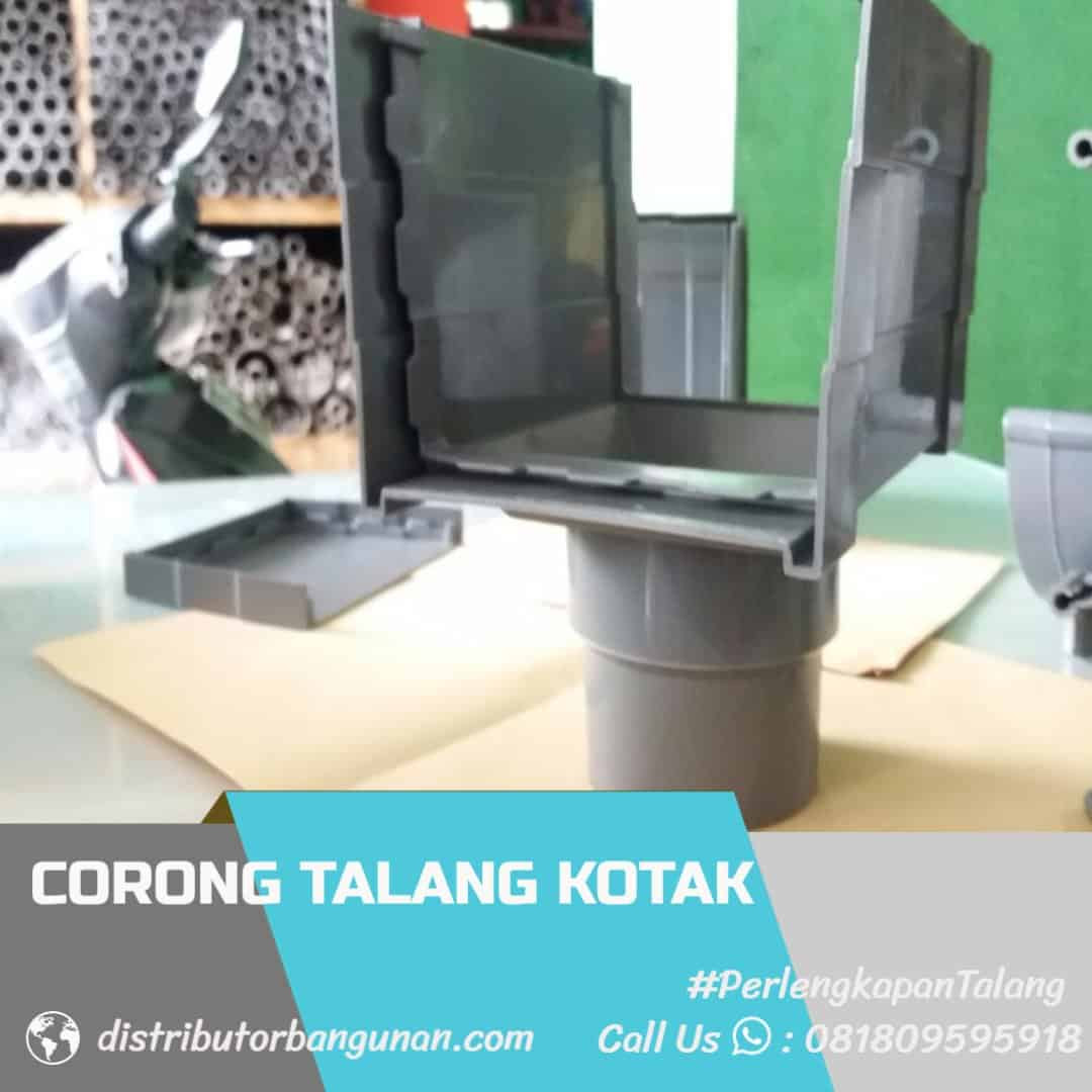 Corong talang SBG Distributor Pipa PVC Perlengkapan Air