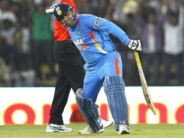 This day that year – When Virender Sehwag became the second batsman to score a double hundred in ODIs