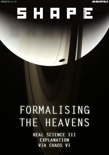 Issue 6 Formalising The Heavens Explanation Via Chaos Real Science