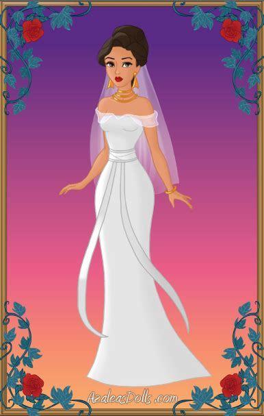 Wedding Dress #1 (Azalea's Dress up Dolls   Heroine Fan
