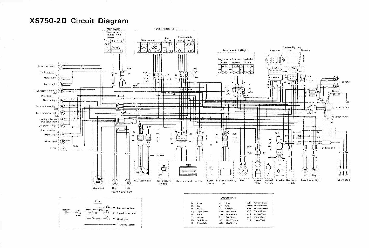 Wiring Yamaha Diagram Switch Ignition Ttr225r