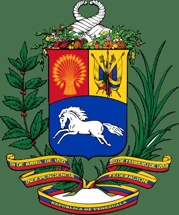 The Coat of arms of Venezuela