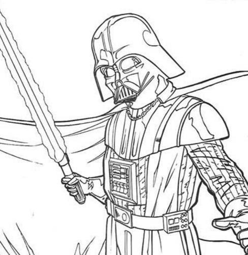 33 Lego Darth Vader Coloring Pages Free Printable Coloring Pages