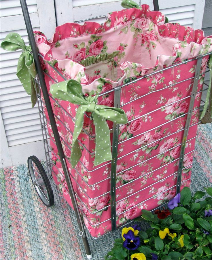 PDF Sewing Pattern/Tutorial for Market Cart by PerfectPieLady, $10.00