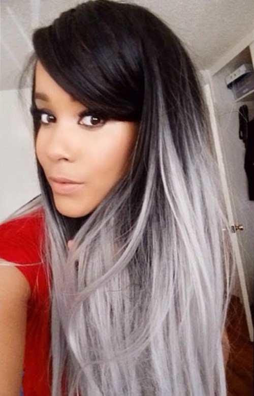 25 New Grey Hair Color Combinations For Black Women - The ...