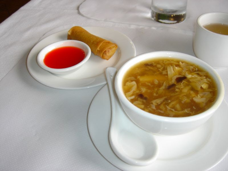 Hot & Sour and Spring Roll