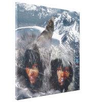 Native Spirit of Alaska Canvas Print