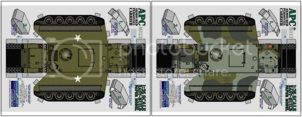 photo Armored Personnel Carrier  Paper Model via papermau 005_zpso06yaqw7.jpg