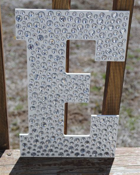 Sparkle White Bling Decorative Wall Letters   Letters From