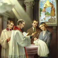 Risultati immagini per  sacramento del battesimo tradizionale
