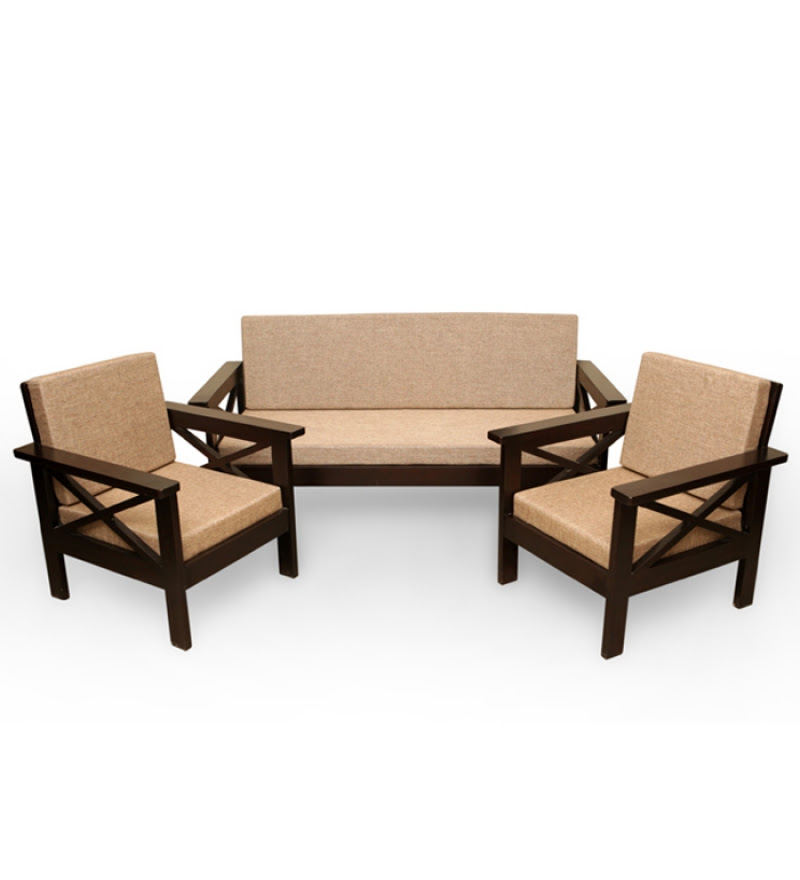 Wooden Sofa Set Smalltowndjs Com