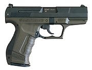 Walther P99, a semiautomatic pistol from late 1990s