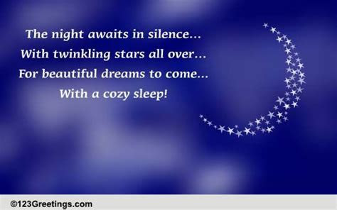 Twinkling Stars All Over! Free Good Night eCards, Greeting