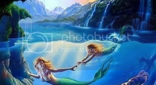 Mermaids Swimming Pictures, Images and Photos