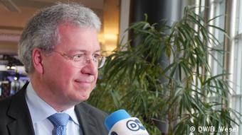 O βουλευτής των Χριστιανοκοινωνιστών της Βαυαρίας Μάρκους Φέρμπερ