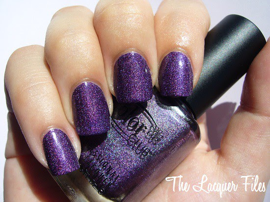 Color Club Wild at Heart Collection Fall 2009 purple holographic