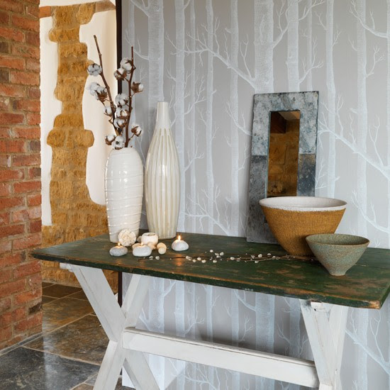 Be inspired by nature | 10 wallpaper ideas for hallways | housetohome.