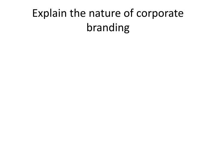 explain nature