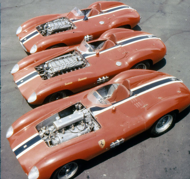 Ferrari, 750 Monza, 121 LM, 410S, Parrevano, Carlyle Blackwell
