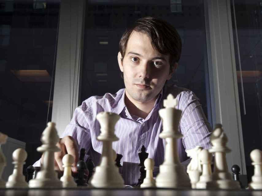 Shkreli en el momento que pasó de las hedge funds a las farmacéuticas.