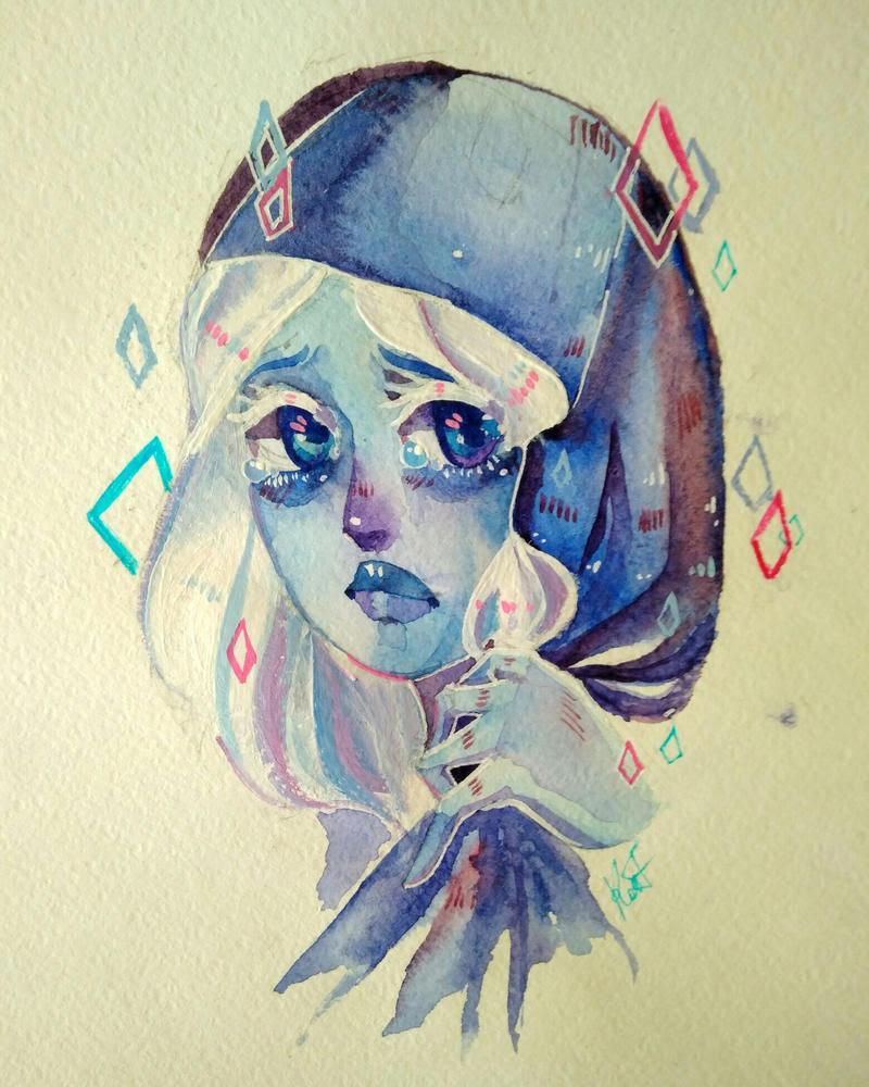 Blue tears by RodgerJi