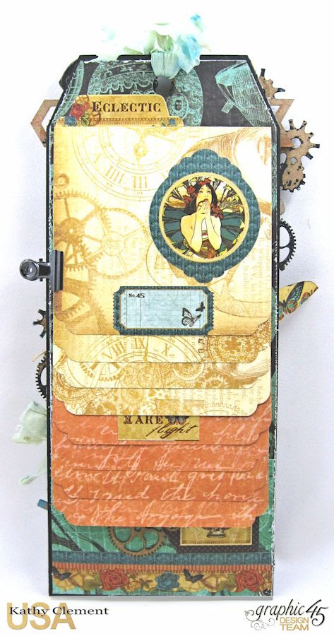 Steampunk Debutante Tag Folio by Kathy Clement for Gypsy Soul Lasercuts Product Graphic 45 Steampunk Debutante 06